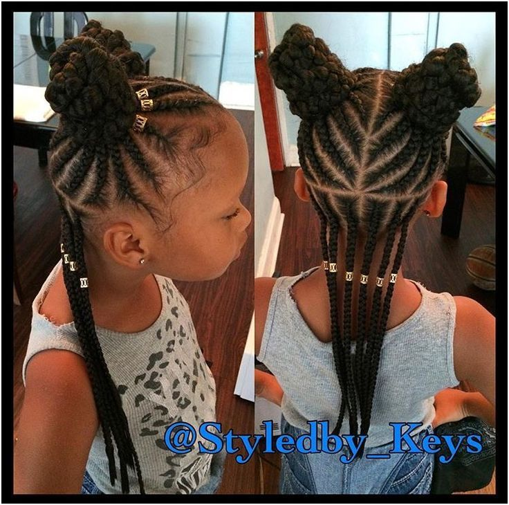 12 Ordinary Little Girl Braided Hairstyles Beatifull Girls Hairstyles Braids Natural Hair Styles Hair Styles