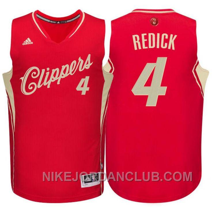 http://www.nikejordanclub.com/nba-201516-season-los-angeles-clippers-4-jj-redick-christmas-red-jersey-for-sale.html NBA 2015-16 SEASON LOS ANGELES CLIPPERS #4 J.J. REDICK CHRISTMAS RED JERSEY FOR SALE Only $89.00 , Free Shipping!