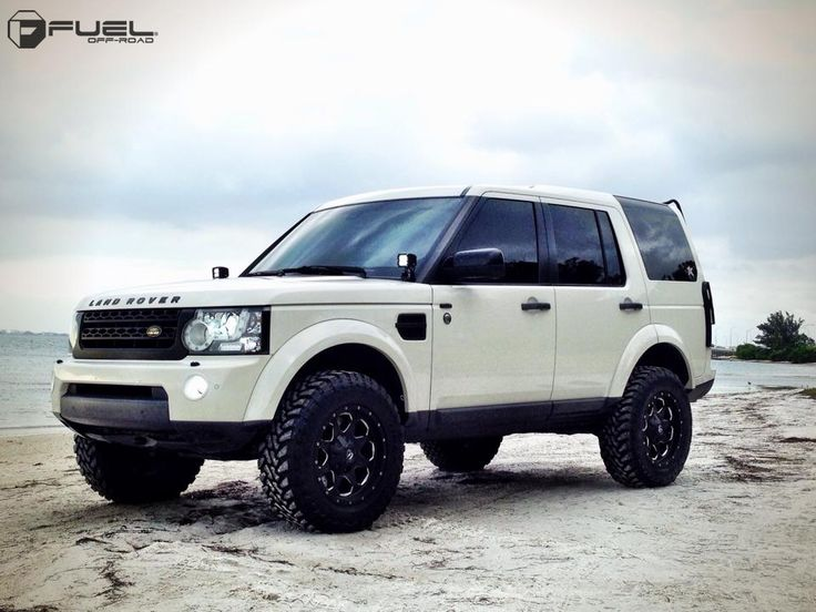 "2010 Land Rover LR4 » BRAND: FUEL ONE PIECEOFFSET: WHEEL: D534 - Boost TIRE SIZE: 35""WHEEL SIZE: 18""SUSPENSION: 2.5"" Lift/A..."