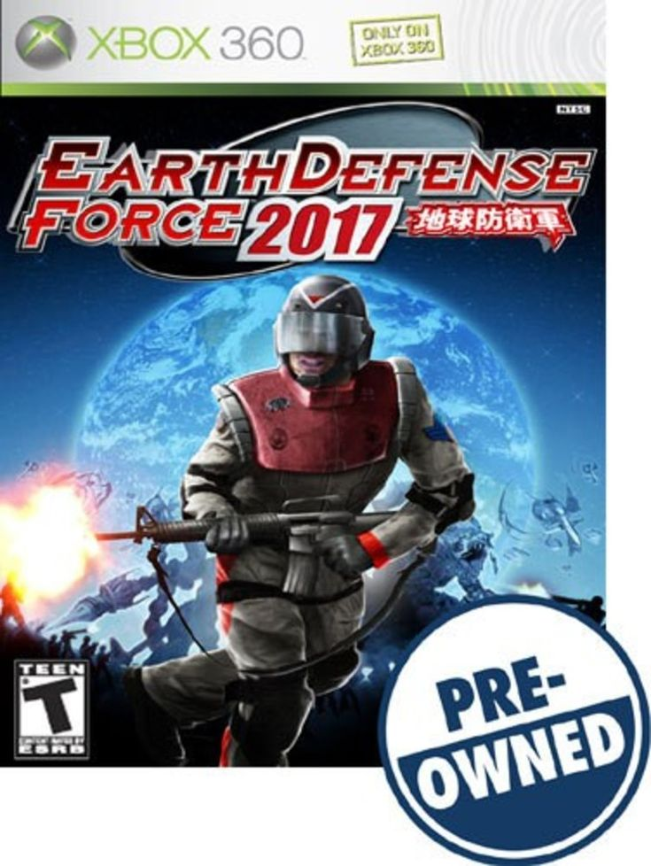 Earth Defense Force 2017 — PRE-Owned - Xbox 360