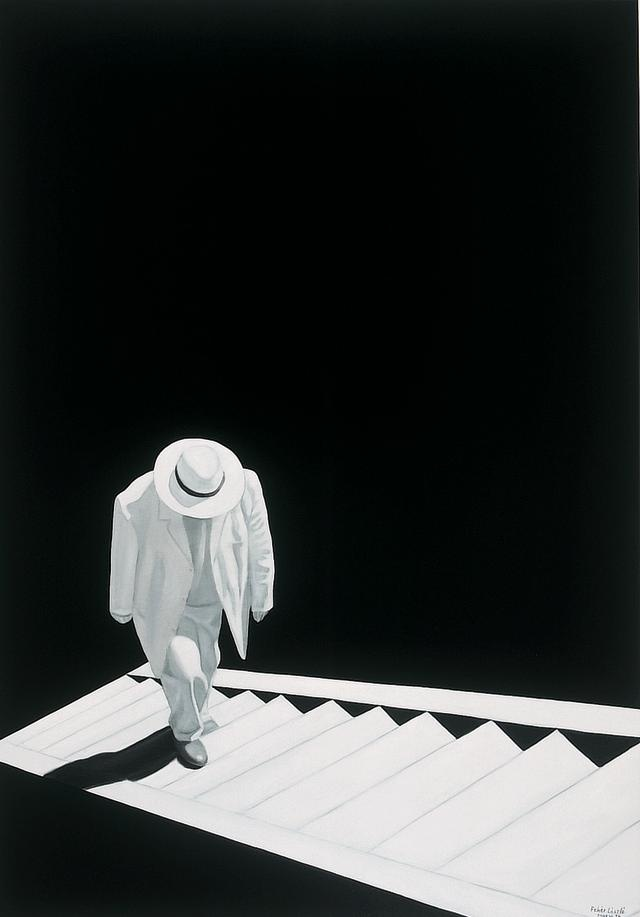 László Fehér - On the Stairs II