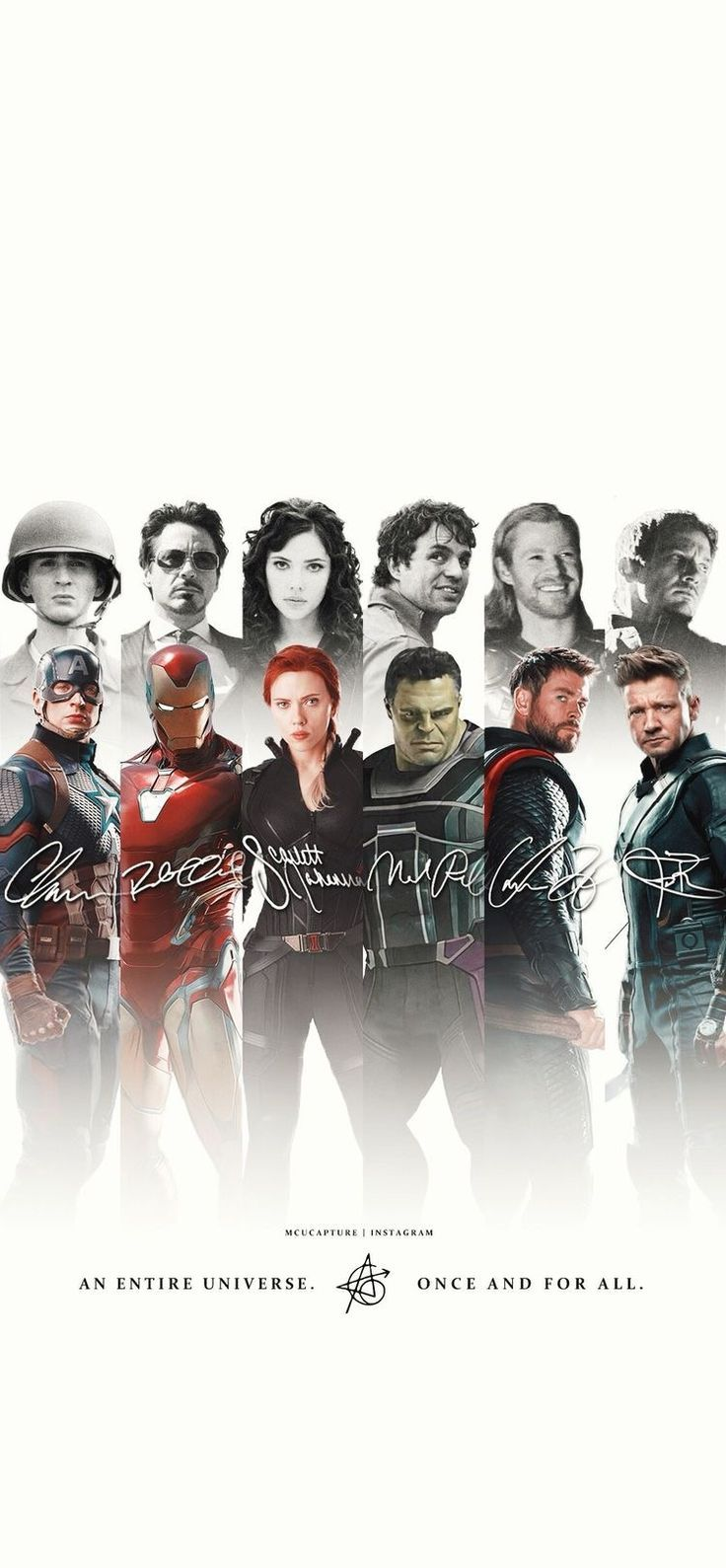 We miss those who are gone, we hold tight to those we have. #mcu