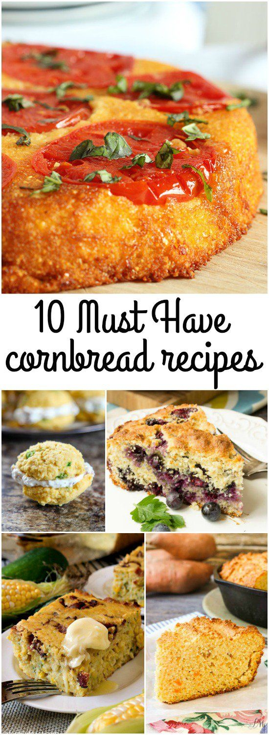 For southerners, a great cornbread recipe is a must. Whether you like basic cornbread or a kicked-up loaded out cornbread, I have found and cataloged 10 must-have cornbread recipes that your family will love, your friends will rave about and you will come to depend on!  Cornbread rounds out any meal, making it hearty and memorable. It is a delicious addition to a bowl of soup, stew and/or chili.  The recipes featured in this collection range from savory to sweet. You could easily serve one…