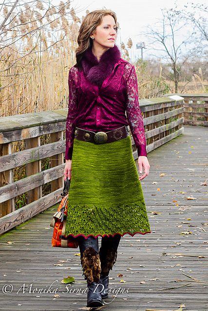 Ravelry: Autumn Foliage pattern by Monika Sirna