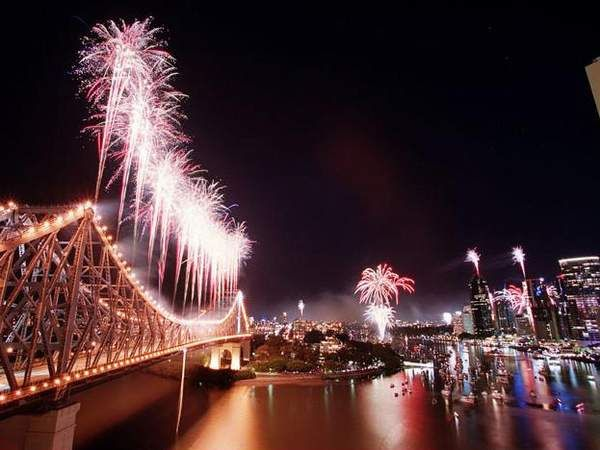 Brisbane Riverfire skyline sure to make for a great night in Brisbane. The Bridge always looks good too.