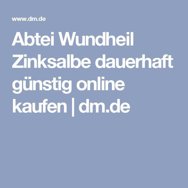 Abtei Wundheil Zinksalbe dauerhaft günstig online kaufen   dm.de