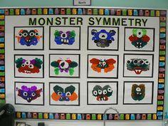 Mrs. T's First Grade Class: Monster Symmetry