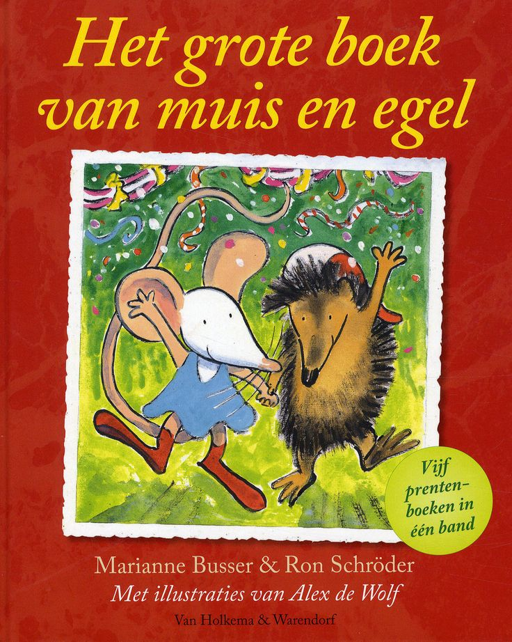 Boekenhoek: het grote boek van muis en egel