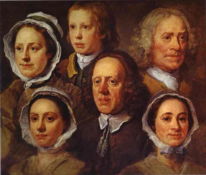 William Hogarth Servants
