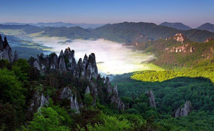 Slovakia - Sulov Rocks