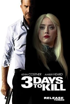 3 Days to Kill (2014) EXTENDED Reviews | 3 Days to Kill movie tells the story of a CIA agent action, Ethnan Runner (played by Kevin Costner) is given a mission to kill a terrorist known as The Wolf (played by Richard Sammel). The film also presents a family drama, which Ethnan must strive to be accepted back by his wife, Cristine Renner (played by Connie Nielsen) and her beautiful daughter, Zooey Renner (played by Hailee Stenfeld) after 10 years of being a CIA spy.