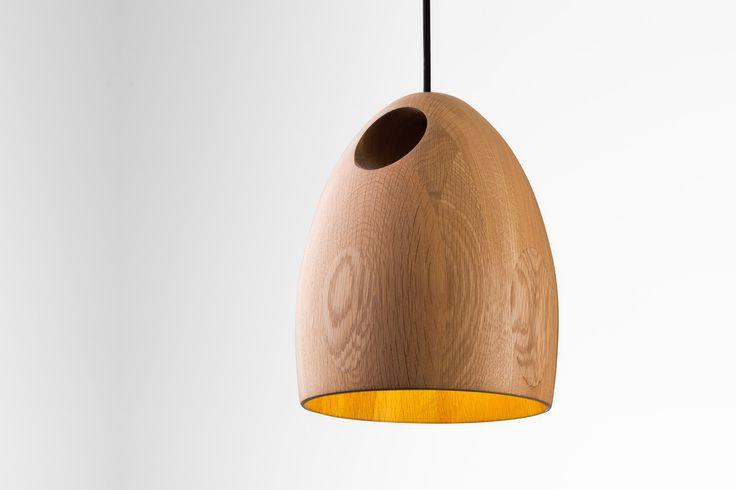 Ross Gardam | Oak pendant in natural