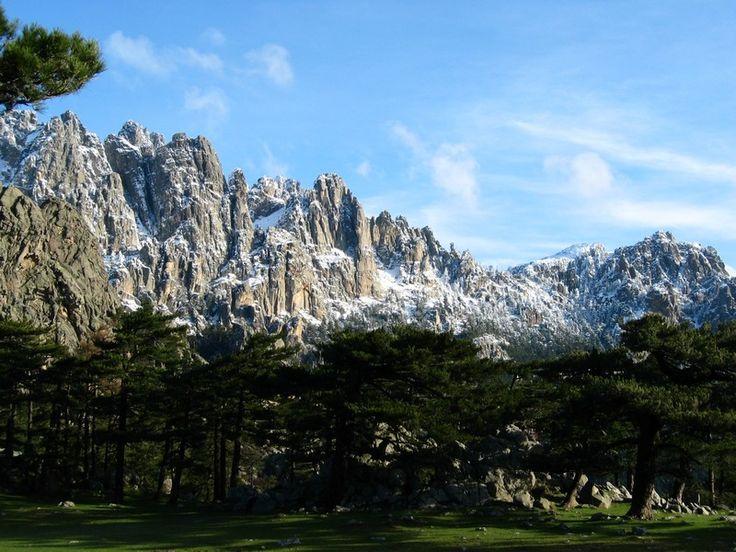 Corsica - Les Aiguilles de Bavella.
