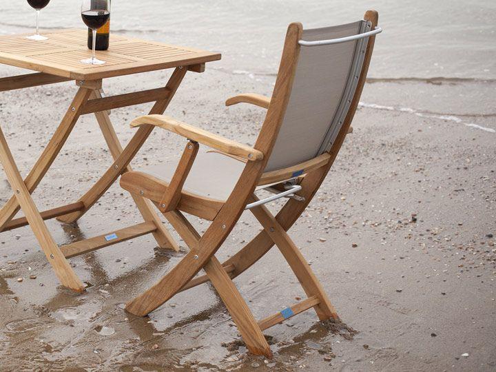 Gartenstühle klappbar  25+ ide terbaik Gartenstuhl Hochlehner di Pinterest | Gartenstuhl ...