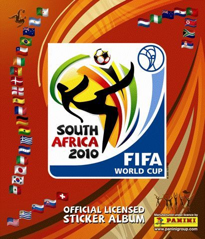 World Cup FIFA South Africa 2010  Official licensed Album Stickers Panini