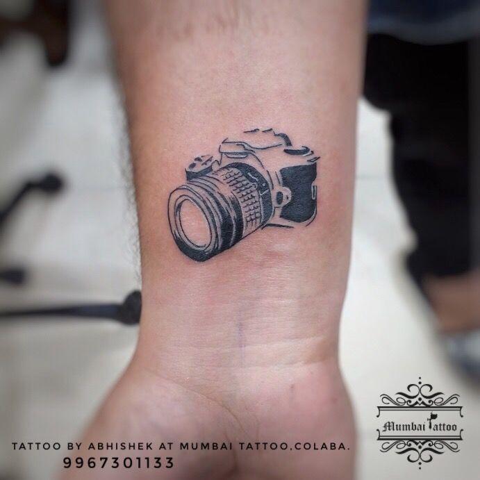 Camera Tattoo Mumbaitattoocolaba 919967301133 Tattoo Ink