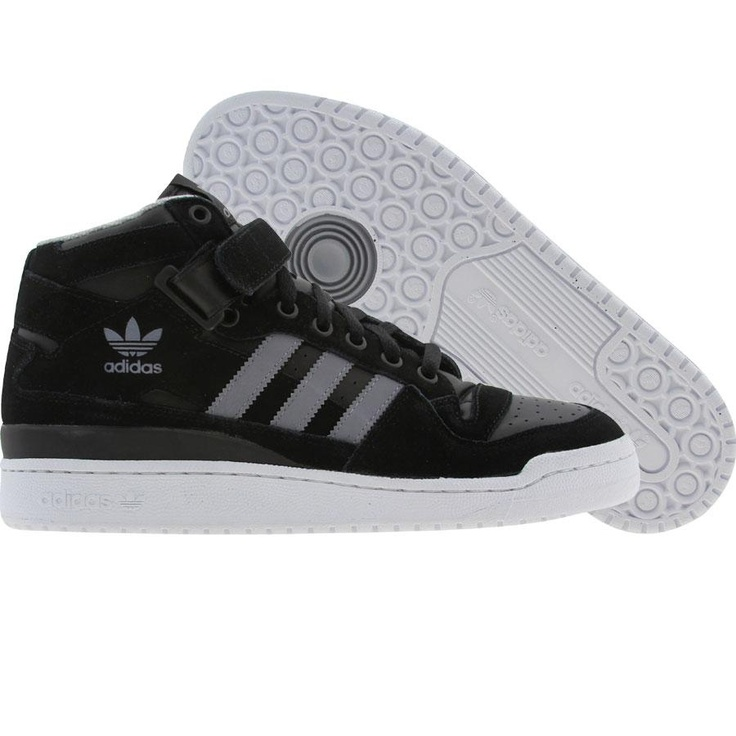 adidas forum mid rs black  tech grey  white g62880 84.99