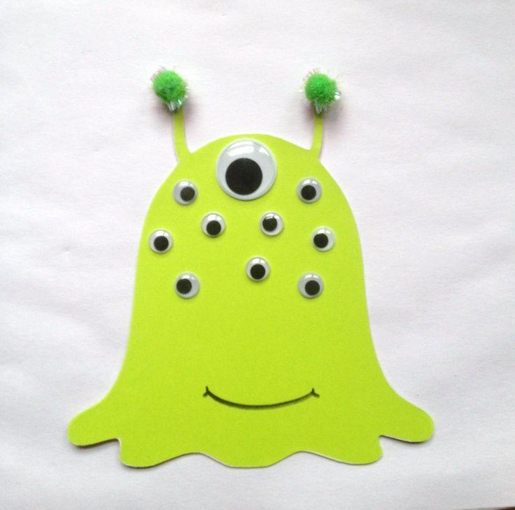 Kids Craft Diy Alien