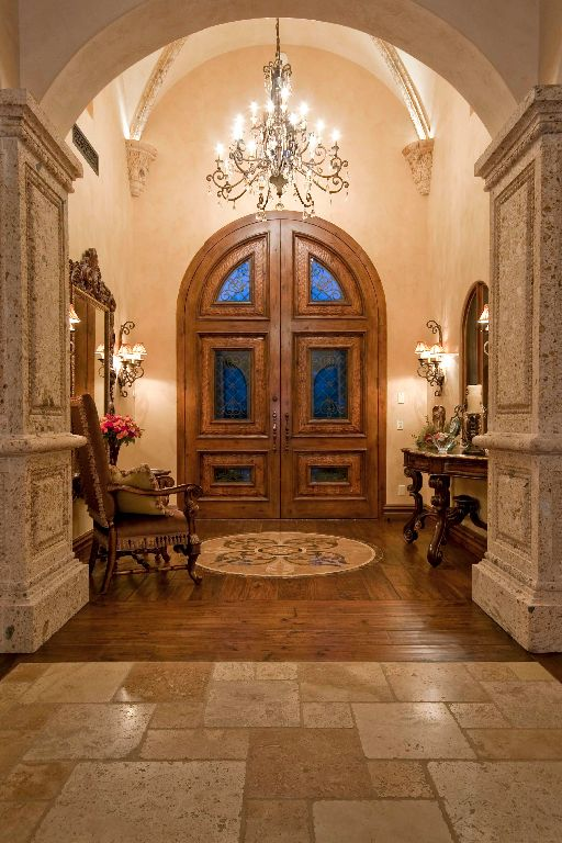 865 best interior tuscan home images on pinterest for Italian villa interior design ideas