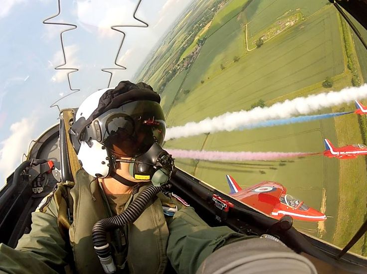 Fly with the Red Arrows