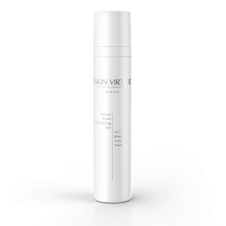 Super Clear Correcting Gel   Oil + Blemish Control Treatment – Skin Virtue