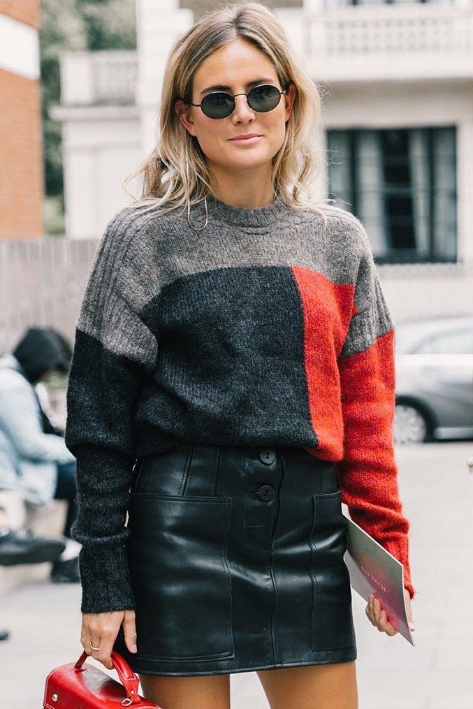 64 of the Best Colorblock Sweaters for Fall and Winter (Le Fashion)