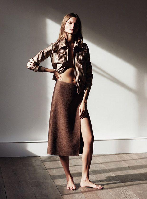 Magdalena Frackowiak for Russh Magazine by Ward Ivan Rafik