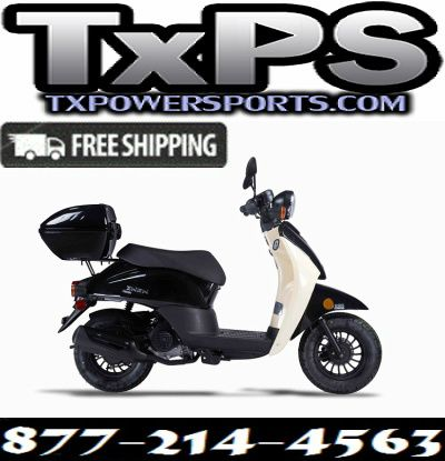 Amigo Znen 2017 PSC-50 49cc Street Legal Scooter, 3.0 HP 4 stroke SOHC Air Cooled Free Shipping Sale Price: $1,299.00