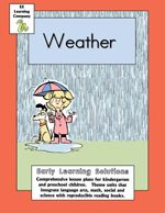 Preschool and Kindergarten Weather Lesson