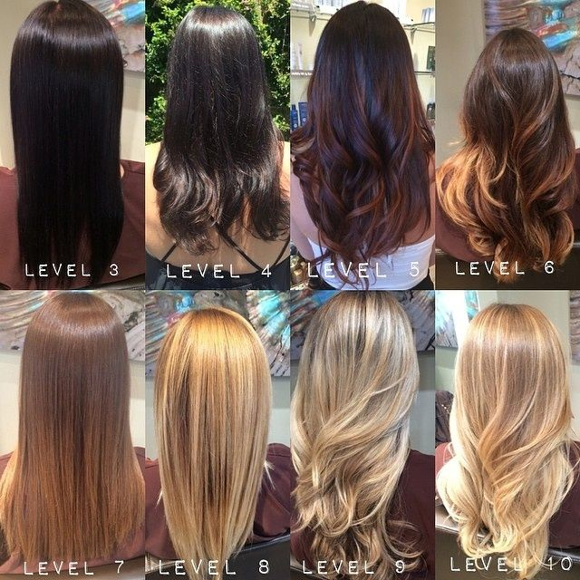 aveda color chart - Google Search                                                                                                                                                     Mehr