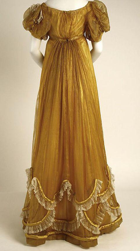 evening dress 1818