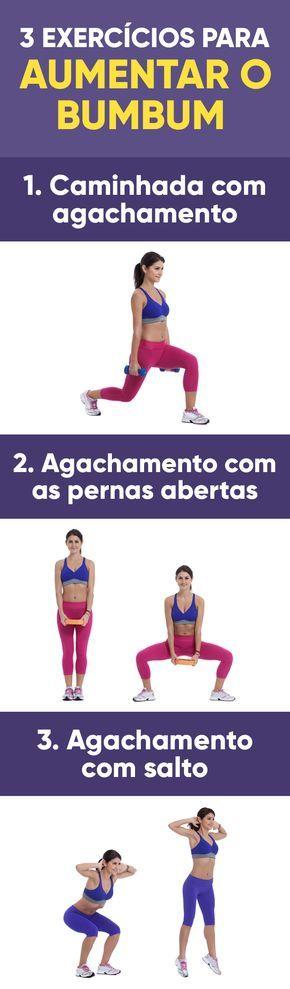 Estes exercícios ajudam a fortalecer a musculatura do bumbum, deixando mais firme e maior, sendo útil também para combater a celulite, porque melhora a circulação sanguínea e linfática das pernas.
