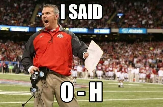 Ohio State Football ... Coach Urban Meyer