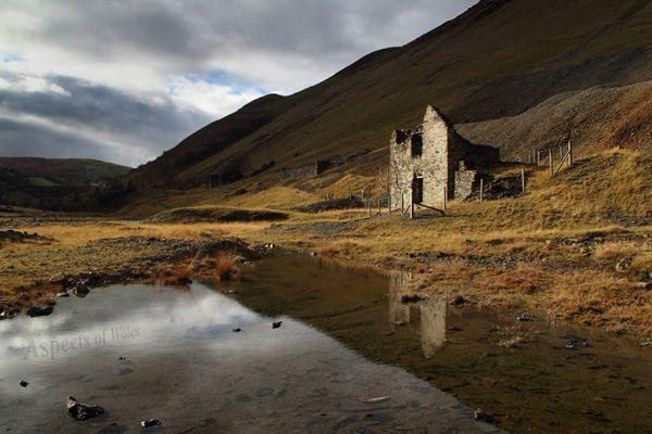 Cwmystwyth Lead Mine, Ceredigion