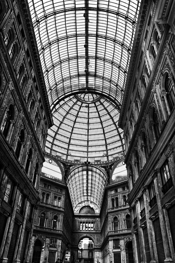 Galleria Umberto. Naples, Italy, this among other museums in Naples.