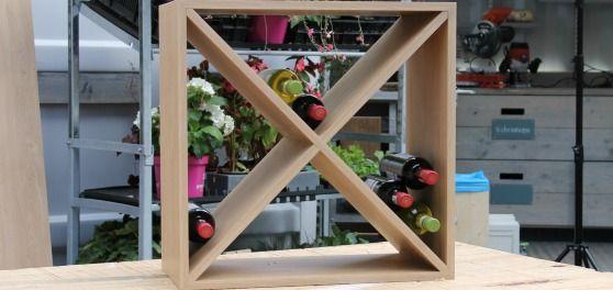 Handig wijnrek | Eigen Huis & Tuin
