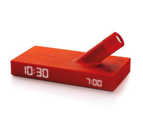壁や天井に時刻が! プロジェクター付きのLED目覚まし時計【Lumo Projection Alarm Clock】|インテリアハック