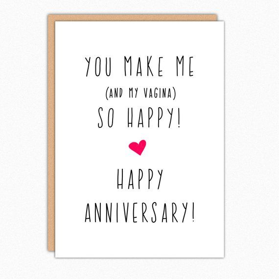 Anniversary Card Funny Anniversary Card For Boyfriend Anniversary Card For Husband Naughty Anniversary You Make Me So Happy 173 Funny Anniversary Cards Cards For Boyfriend Anniversary Cards For Him