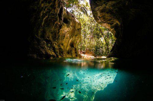 Пещера Хрустального склепа (Actun Tunichil Muknal), Белиз.