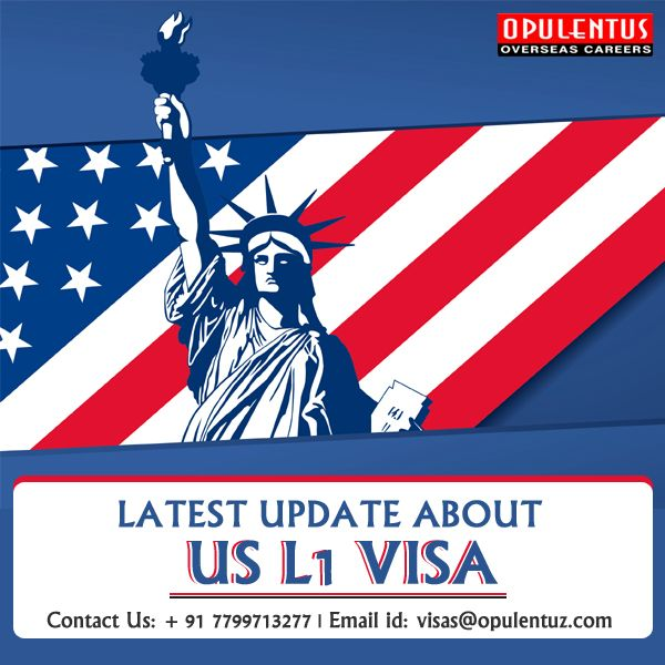 L1 visas are in several cases the solely work visa option to