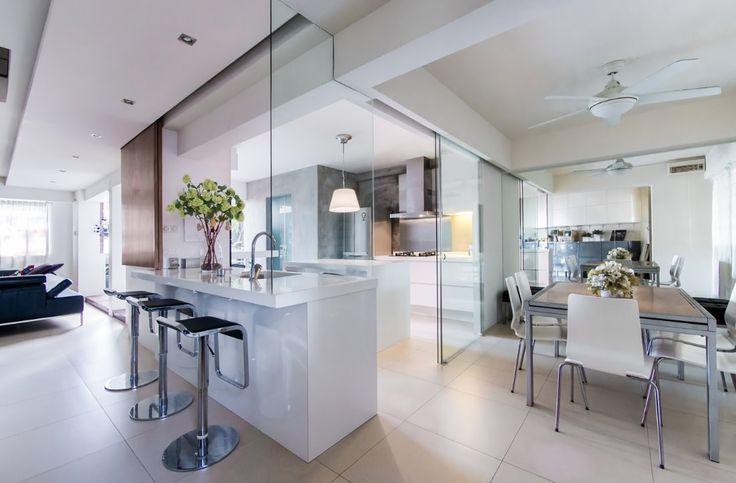 Best 25 closed kitchen ideas on pinterest cuisine design closed kitchen inspiration and - Closed kitchen design ...