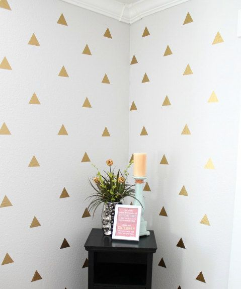 Triangle Wall Decal Sticker / Triangle Decals by ArtForwardDecals