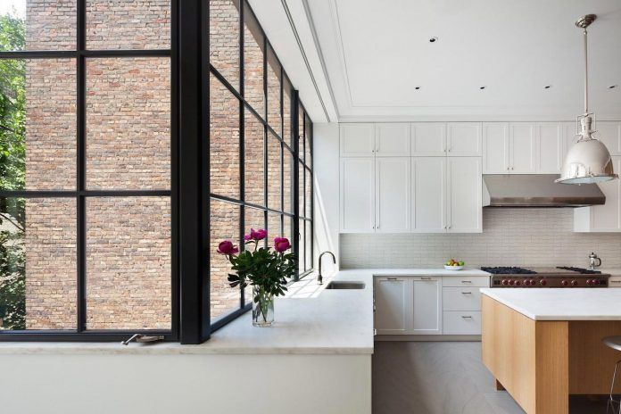 A combination of historical details and lightness of modern living of an Manhattan townhouse - CAANdesign | Architecture and home design blog