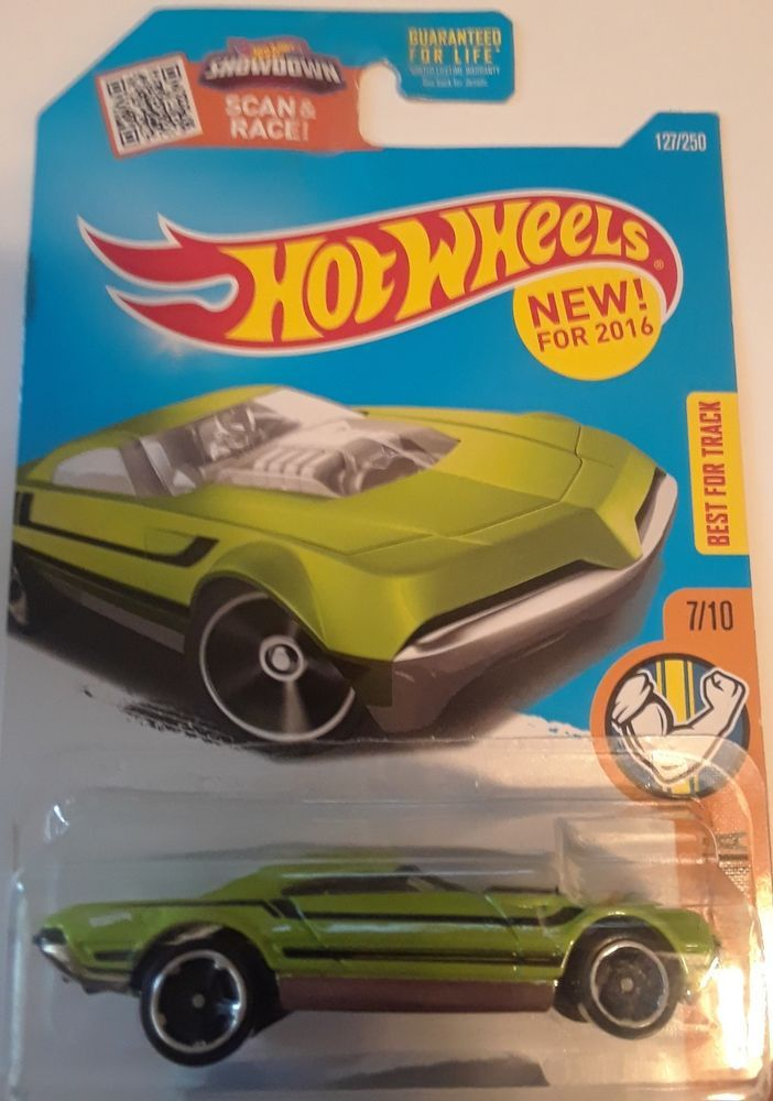 2016 Hot Wheels MUSCLE MANIA 7//10 Muscle Speeder 127//250 Green Version