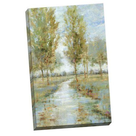Portfolio Canvas Decor River Home I by Longo Large Canvas Wall Art, 24x36, Size: Large 33 inch-40 inch, Multicolor