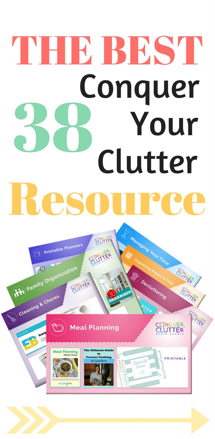 Amazing resources for getting organized and feeling less stressed. This did help me conquer my clutter problem. I also love the meal planning, feeling less stressed now in that matter. Such a great value for all the resources you can get.