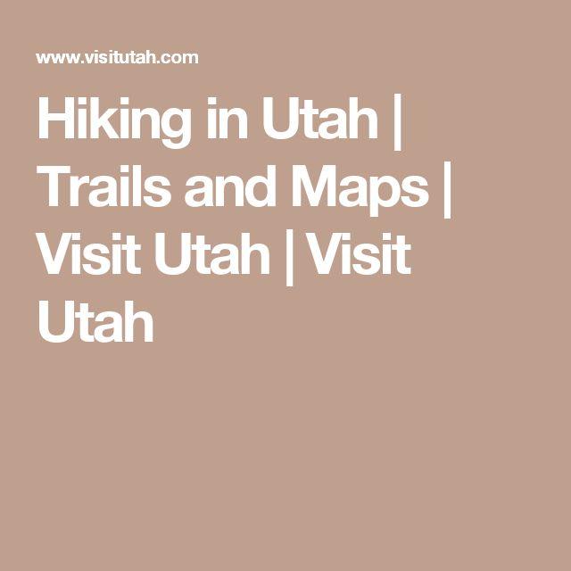 Hiking in Utah   Trails and Maps   Visit Utah   Visit Utah