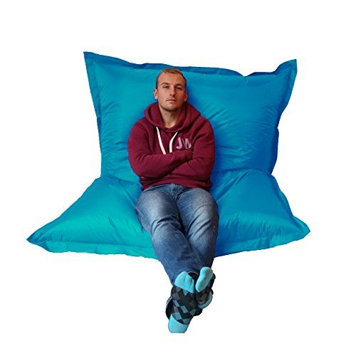 Extra Large Giant Beanbag Teal Blue - Indoor & Outdoor Bean Bag - MASSIVE 180x140cm - great for Garden Outside & In http://www.amazon.co.uk/dp/B00ZYK1EZQ/ref=cm_sw_r_pi_dp_PIlMwb0YT68WY