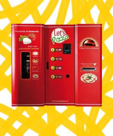 fresh pizza vending machine