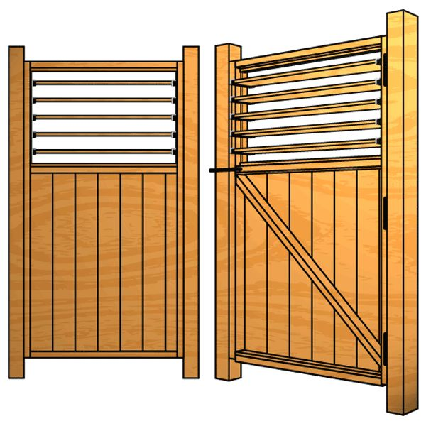 25 Best Images About Wood Fence With Lattice Top On Pinterest